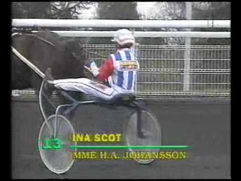 Prix d'Amerique 1995 - Ina Scot / Helene A Johansson