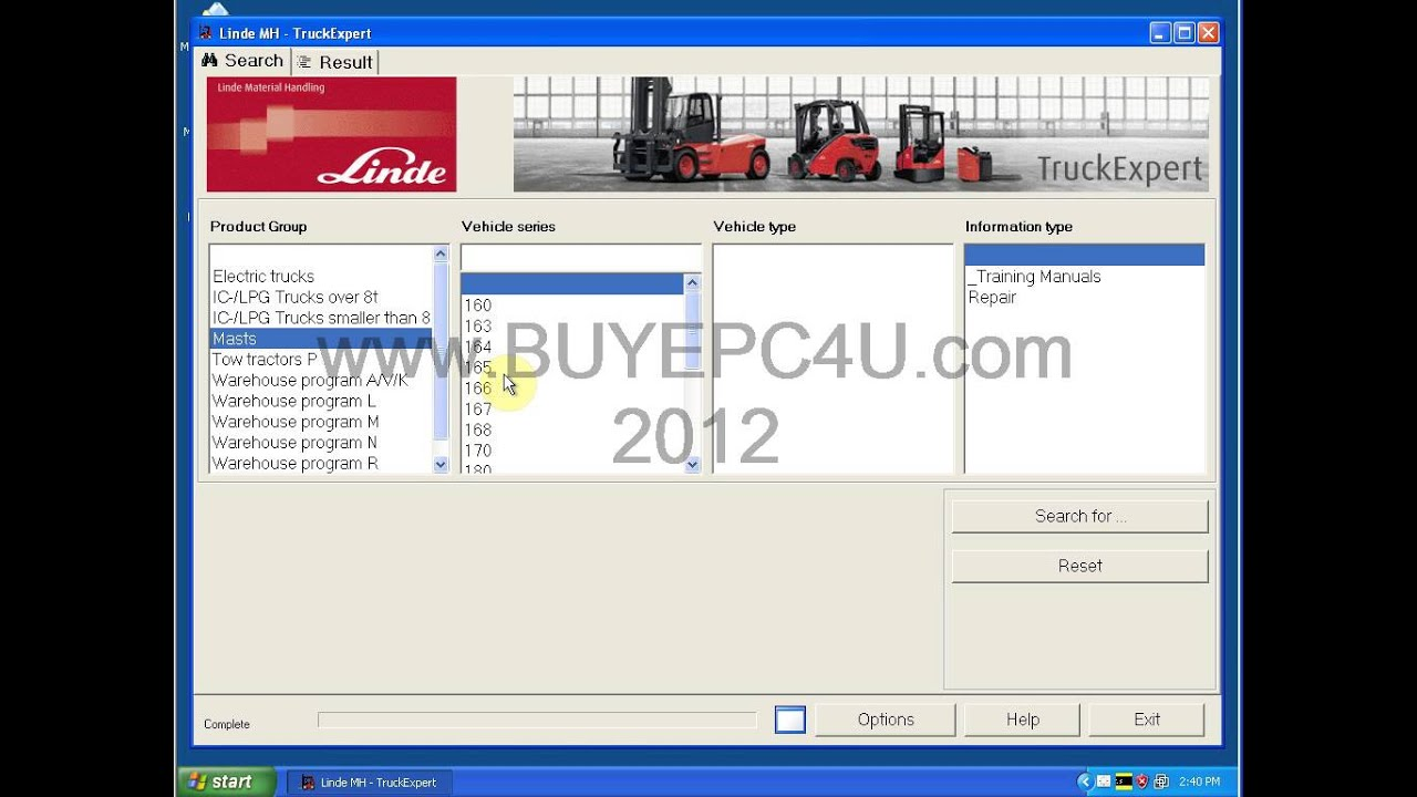 linde truck expert 2012 diagnostic software
