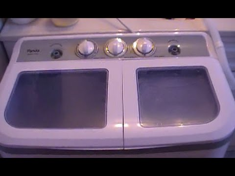 Panda B45 Portable Washing Machine Demo ~ Homesteading Ways
