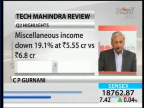 Tech Mahindra Q2 Press Conference - NDTV Profit