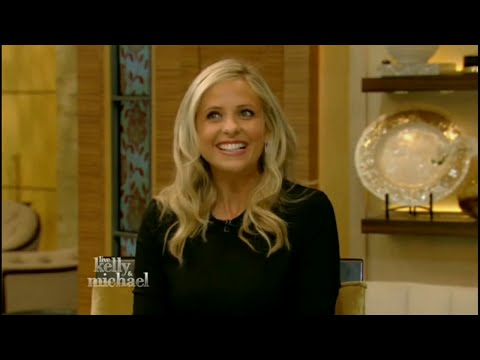 Sarah Michelle Gellar interview ! Live with Kelly and Michael (Oct 6th, 2015)