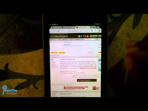 GET ADOBE FLASH ON NEXUS 7