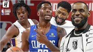 Los Angeles Clippers vs Los Angeles Lakers - Full Game Highlights | July 6, 2019 NBA Summer League