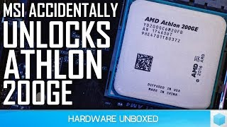 AMD Athlon 200GE Overclocking, The Best Budget CPU Just Got Better!