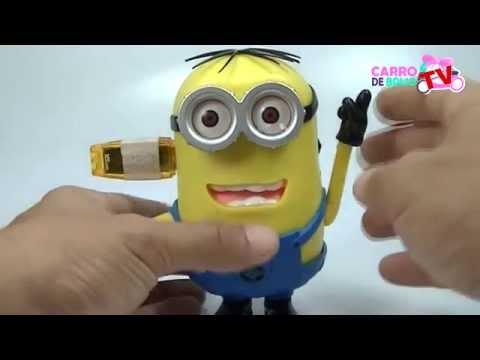 Caixa de Som Minions USB Speaker Portátil MP3