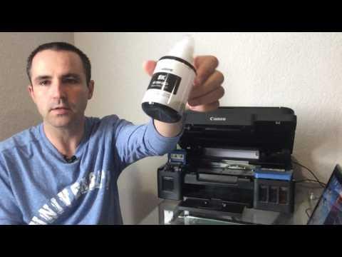 instalar configurar impresora escaner copiadora pixma canon g2100 sistema tintas continuas