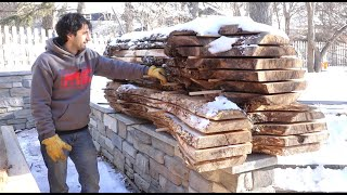 Stacking, Cleanup, and Drying - Turning a Log into Lumber Part 3