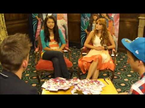 Interview Bella Thorne and Zendaya Coleman HD