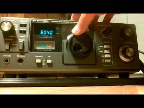 Kenwood R-1000 49 meters shortwave band