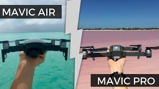 MAVIC AIR o MAVIC PRO ? que drone elegir entre los 2?