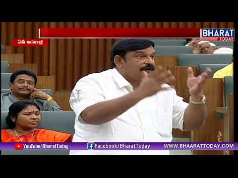 AP Assembly Monsoon Session 2018 | Opposition Leaders Asking Questions to Chandrababu