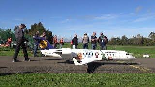 CRJ200 SCALE RC TURBINE AIRLINER HAUSEN 2017