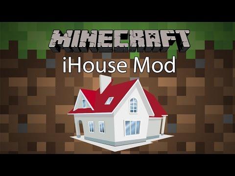 Minecraft Mod รีวิว - Mod บ้านพกพา   iHouse Mod