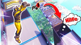 Hardcore Co-op Parkour in Fortnite Battle Royale!