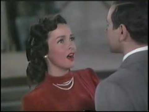 "Mario Lanza & Kathryn Grayson sing ""One Love of Mine,"" a song that was to be used in their 1949 picture ""That Midnight Kiss,"" but was pulled from the final cut of the film. Conducting is José..."