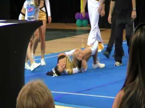 Snap is listed (or ranked) 4 on the list The 12 Most Brutal Cheerleading FAILs