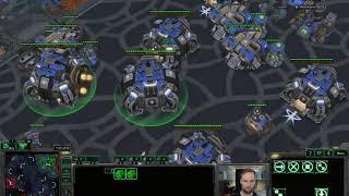 Ravens+Mines vs Mass Carriers - Masters TvP x2 - Starcraft 2 LotV