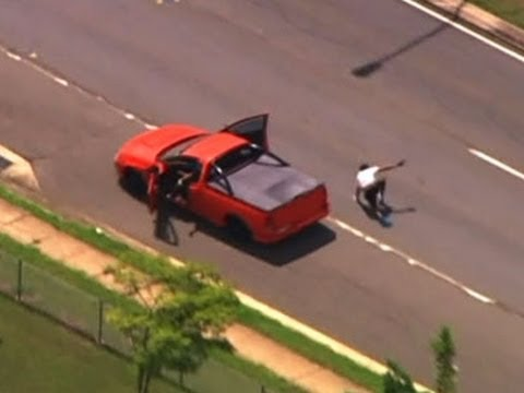 Raw: Dramatic Police Chase in Australia