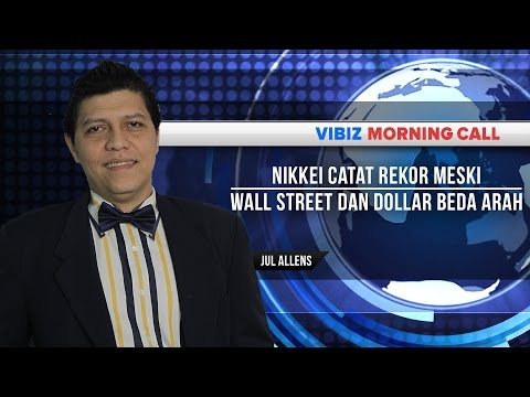 Nikkei Catat Rekor Meski Wall Street dan Dollar Beda Arah, Vibiznews 25 Mei 2015