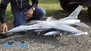 Freewing F-16 Super Scale 90mm EDF Jet Fighter Fun