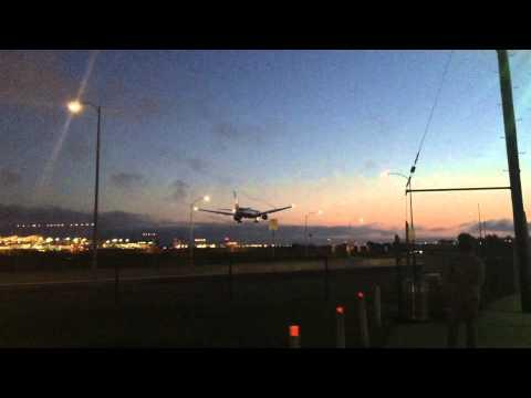 Eva Air Boeing 777-300ER Landing at LAX Los Angeles International Airport