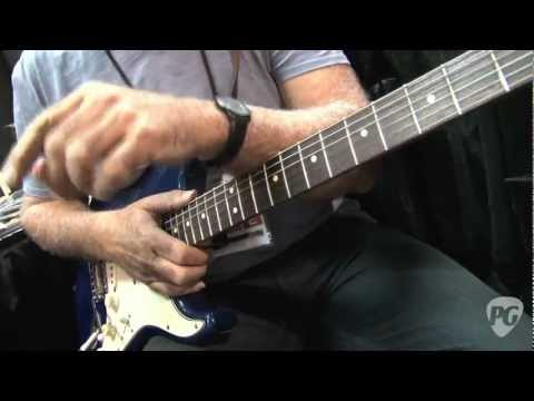 Summer NAMM '11 Dean Markley Carl Verheyen Balanced Bridge Helix HD Strings Demo