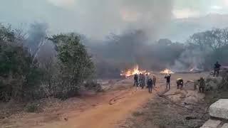 Incêndios na Serra do Lima trazem preocupação à população de Patu