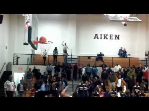 Strom Thurmond high school boys vs Midland Valley boys last second shot