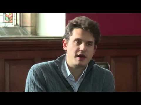 John Mayer - Life In Music - Oxford Union