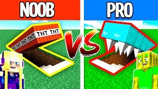 NOOB vs. PRO TODES FALLE in MINECRAFT?!