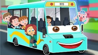 Wheels On The Bus | Kindergarten Videos And  Nursery Rhymes by Kids Channel