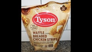 Tyson: Waffle Breaded Chicken Strips Review