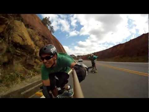 Aimorés-MG | Skate Downhill speed forfun - Skate Longboard ES - gopro