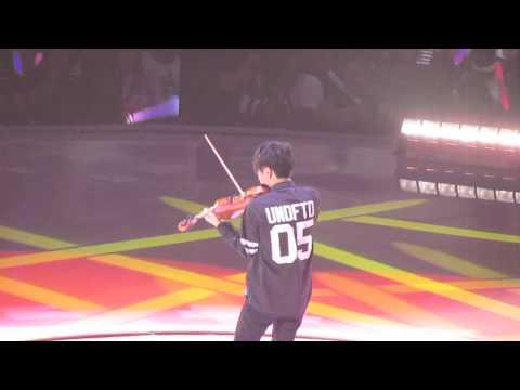 KCON 2014: Jun Sung Ahn - Eyes Nose Lips Violin Cover