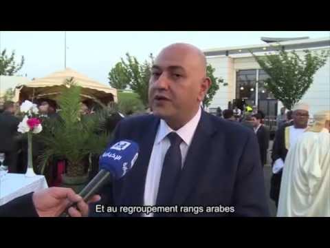 Mohamad Izzat Khatab sur AL Ikhbariya  TV