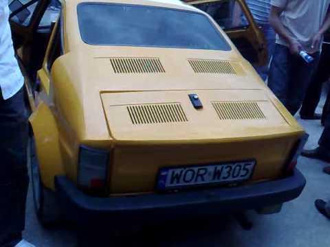 Mały Fiat 126 p po tuinningu