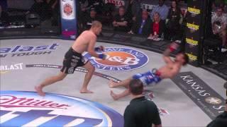 Bellator MMA Moment - Derek Anderson Knocks Out Brandon Girtz