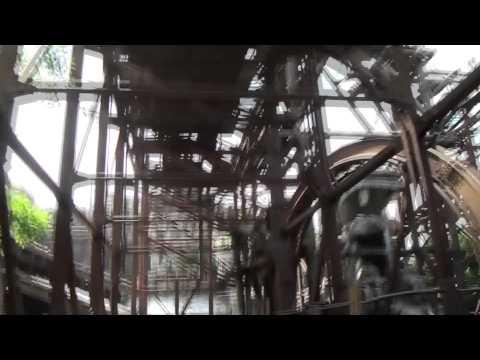 Raging Spirits Roller Coaster POV Front Seat Tokyo DisneySea Japan 1080p HD