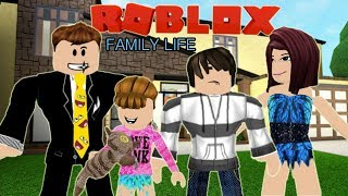 Roblox Sitcom : Family Life - Auntie Christy's Surprise Visit - Ep. 01