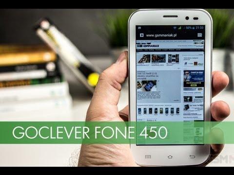 Wideo test i recenzja telefonu GOCLEVER FONE 450   techManiaK.pl