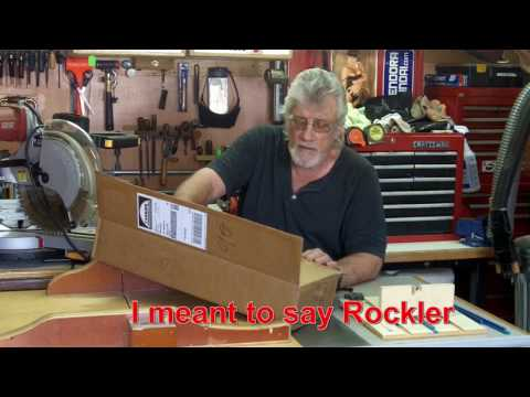 Incra I-box Vs. Rockler Box Joint Jig.   Finger Joints / Box Joints