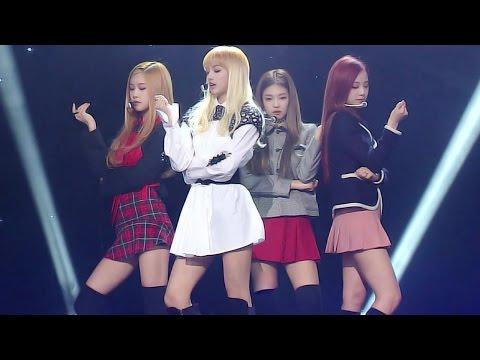 《EXCITING》 BLACKPINK (블랙핑크) - PLAYING WITH FIRE (불장난) @인기가요 Inkigayo 20161127