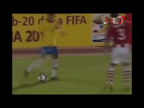 las mejores jugadas de neymar   YouTube