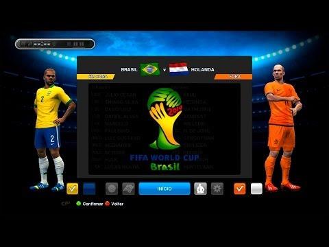 PES 2013 - Copa do Mundo da FIFA Brasil 2014 - Brasil x Holanda