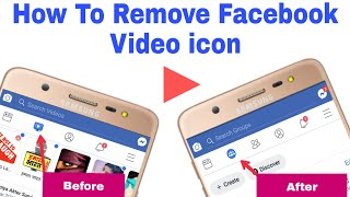 How To Remove Facebook Video Icon, FB Video TV icon Kaise Remove Kar Sakte Hai (in Hindi)