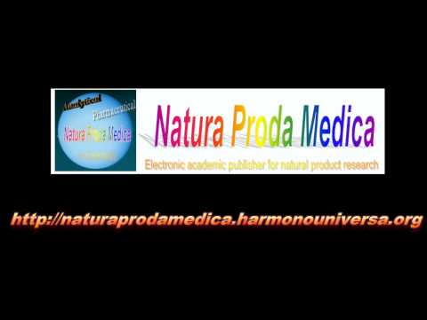 Natura Proda Medica - E-Journal Publisher for Natural Product Research
