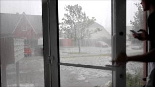 Schwergewitter mit Downburst und Tornadoverdacht 07.07.2015 Halle (Saale)/ Saalekreis