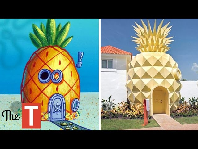 10 Amazing Houses Inspired By Your Favorite Cartoons