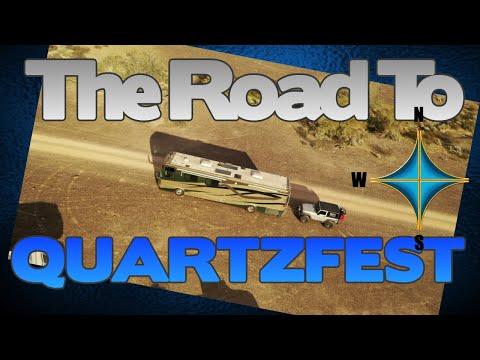 The Road to Quartzsite | Ham Radio RV City In The Desert | K6UDA Radio