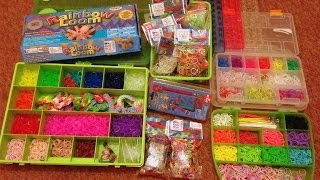 Organizery z Rainbow Loom - Update - 12 dni do swiat - dzien 6